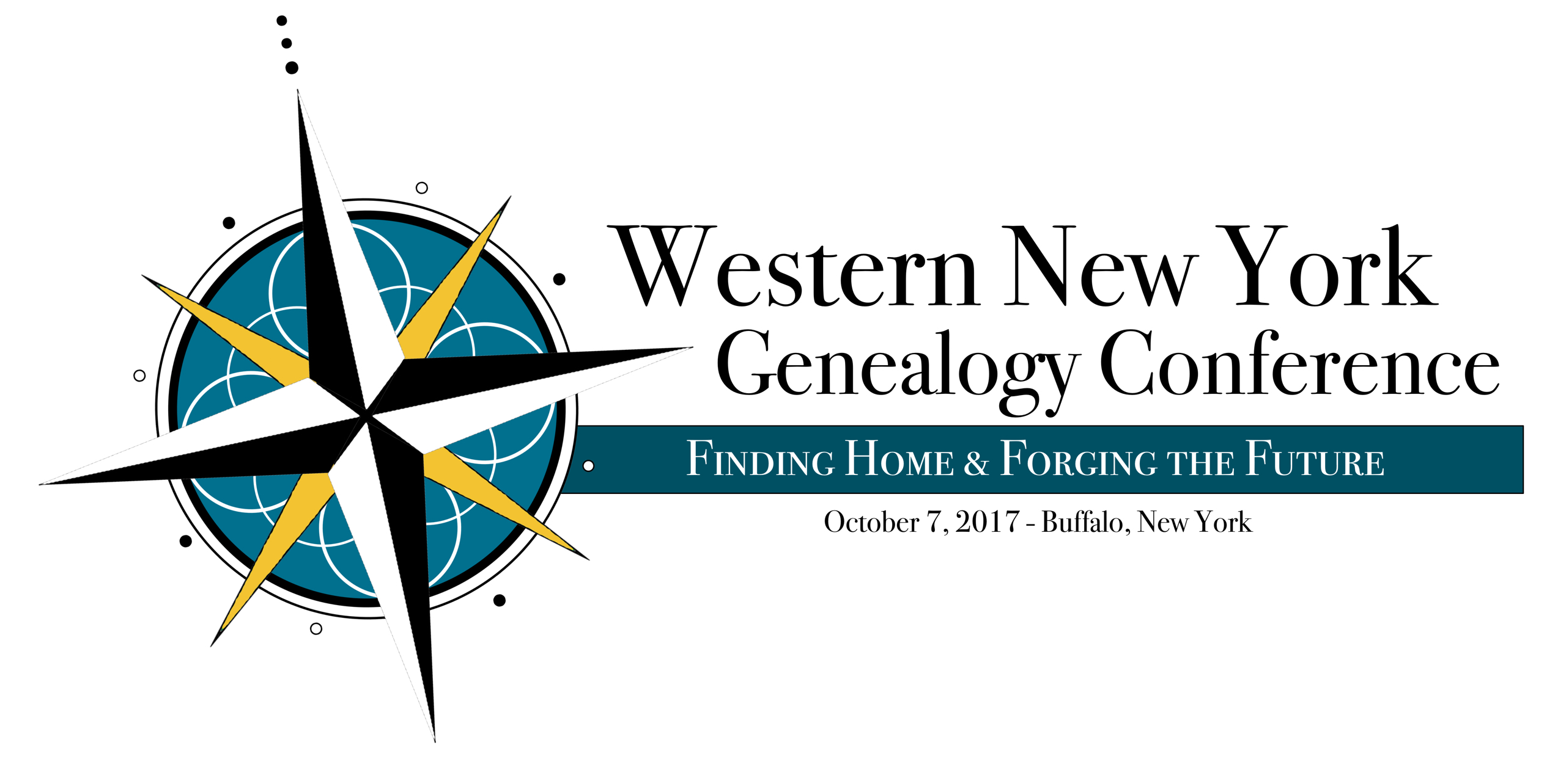 Western New York Genealogy Conference Logo- Buffalo, New York - October 7, 2017